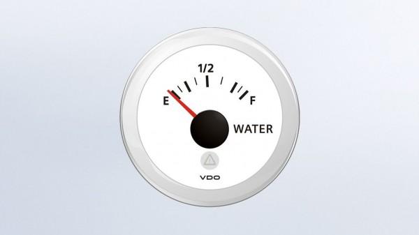 VDO Frischwasseranzeiger 12/24V 52Ø