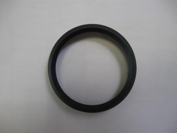 Frontring dreikant schwarz 52mm