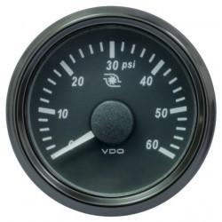 SingleViu Drucktu. 52 60PSI 2107 184OHM (Turbo)
