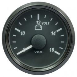 Voltmeter SVIU 52 12V W 8-16