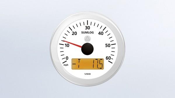 VDO Sumlog 12/24V 85Ø 60mph