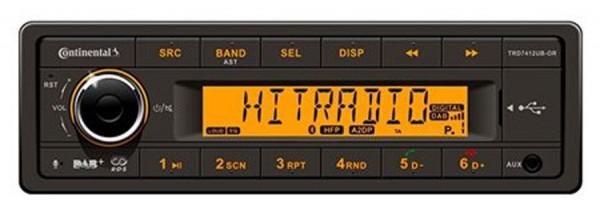 12V Radio Conti TRD7412UB-OR