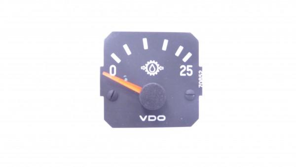 Messwerk Getriebeöl 0-25 bar